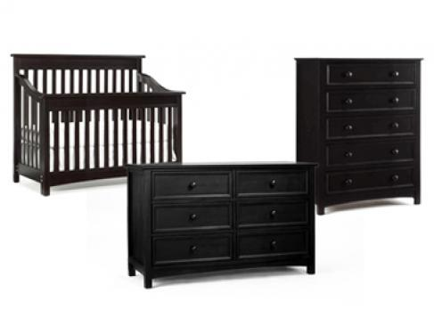Bonavita peyton lifestyle crib rails for Bonavita nursery furniture