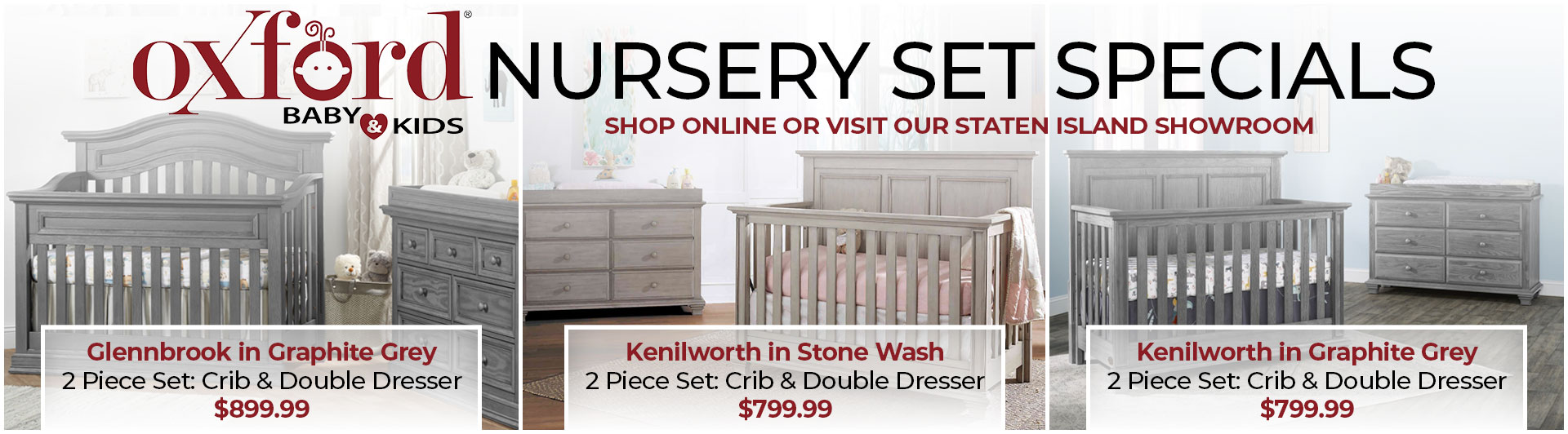 Oxford Nursery Sets