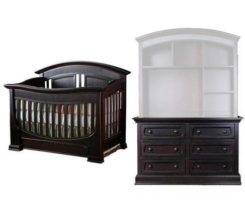 Baby Appleseed Chelmsford Collection Chelmsford 2 Piece Package: Crib and Double Dresser Picture