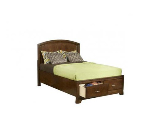 Legacy Classic Kids Newport Beach Newport Beach Twin Panel Bed w/ Storage Footboard Picture