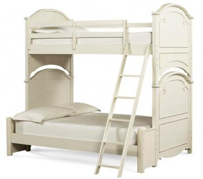 Legacy Classic Kids Charlotte Charlotte Complete Twin 3/3 over Full 4/6 Bunk Bed Picture