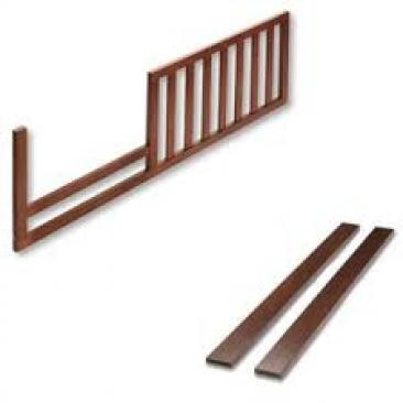 Bonavita Westfield Collection Westfield Full Size Rails and Toddler Guard Rail Conversion Kit for Lifestyle Crib Picture