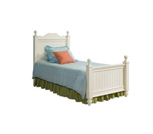 Legacy Classic Kids Summer Breeze Summer Breeze Complete Scroll Top Low Poster Full Bed 4/6 Picture