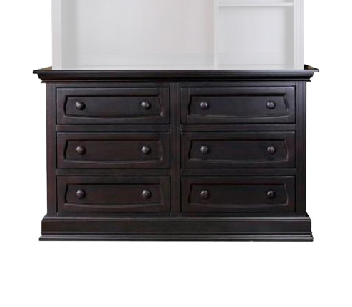 Baby Appleseed Millbury Collection Davenport Collection Double Dresser Picture
