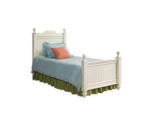 Legacy Classic Kids Summer Breeze Summer Breeze Complete Scroll Top Low Poster Bed 3/3 Twin Picture