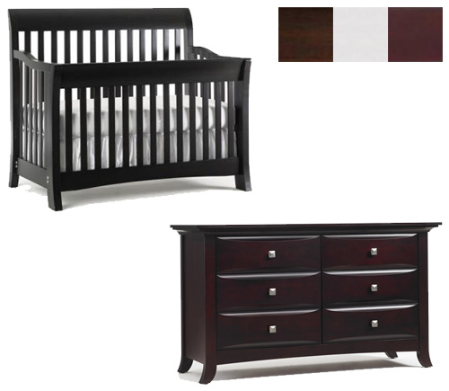 Bonavita Metro Collection Metro 2 Piece Set: Lifestyle Crib and Double Dresser Picture