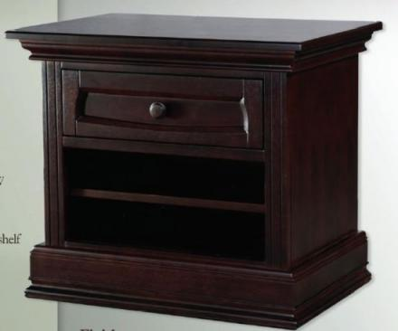 Baby Appleseed Millbury Collection Davenport Collection Nightstand Picture