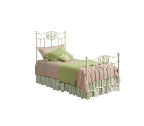Legacy Classic Kids Reflections Reflections Complete White Metal Bed w/KD Rails 3/3 Twin Picture
