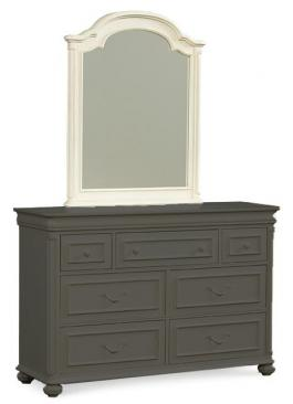 Legacy Classic Kids Charlotte Charlotte Arched Dresser Mirror Picture