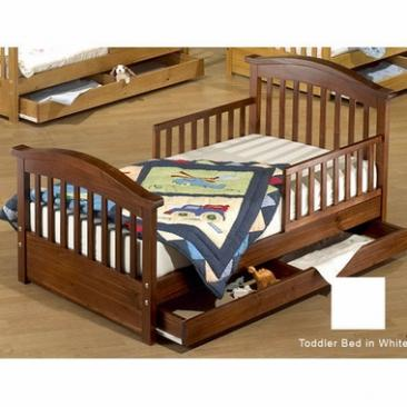 Sorelle Toddler Beds Joel Toddler Bed w/ Drawer Picture