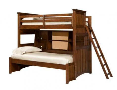 Legacy Classic Kids Dawsons Ridge Dawson's Ridge Bunk Bed with Bedside Storage Full Over Twin Picture