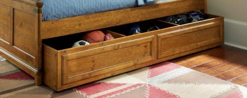 Legacy Classic Kids Bryce Canyon Bryce Canyon Twin over Twin Trundle/Storage Drawer on Casters Picture