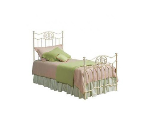 Legacy Classic Kids Reflections Reflections Complete White Metal Bed w/KD Rails 4/6 Full Picture