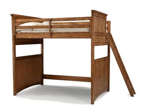 Legacy Classic Kids Timber Lodge Timber Lodge Open Loft Frame Full 4/6 Picture