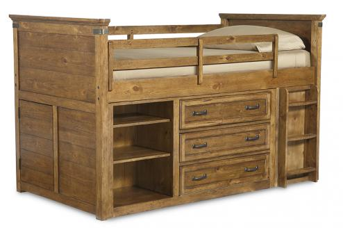 Legacy Classic Kids Bryce Canyon Bryce Canyon Complete Mid Loft Bed Twin 3/3 Picture