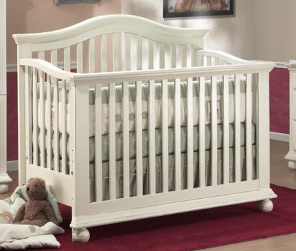 Sorelle Vista Collection Series 2600 Vista Collection Series 2600 4 in 1 Crib with Mini Rail Picture