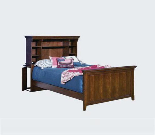 Legacy Classic Kids American Spirit American Spirit Complete Bookcase Bed w/Rails 3/3 Twin  Picture