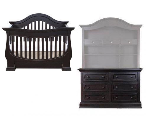 Baby Appleseed Davenport Collection Davenport 2 Piece Package: Lifestyle Crib and Double Dresser Picture