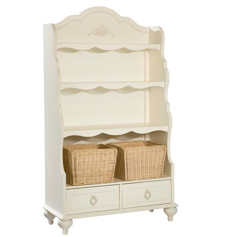Legacy Classic Kids Enchantment Enchantment Bookcase With Baskets Picture