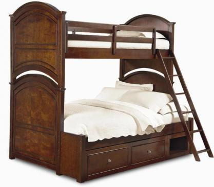 Legacy Classic Kids Impressions Impressions Complete Twin over Full Bunk Bed Picture