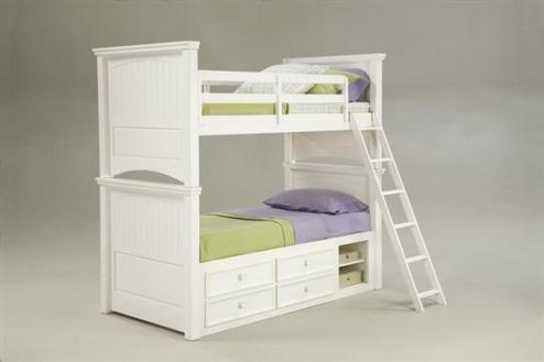 Legacy Classic Kids Summer Breeze Summer Breeze Twin over Full Bunk Bed Picture