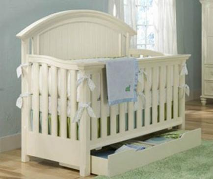 Legacy Classic Kids Summer Breeze Summer Breeze Convertible Crib Picture