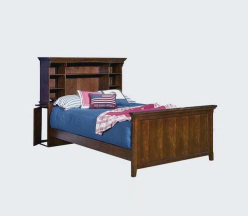 Legacy Classic Kids American Spirit American Spirit Complete Bookcase Bed w/Storage 4/6 Full  Picture
