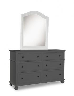 Legacy Classic Kids Madison Madison Arched Dresser Mirror Picture