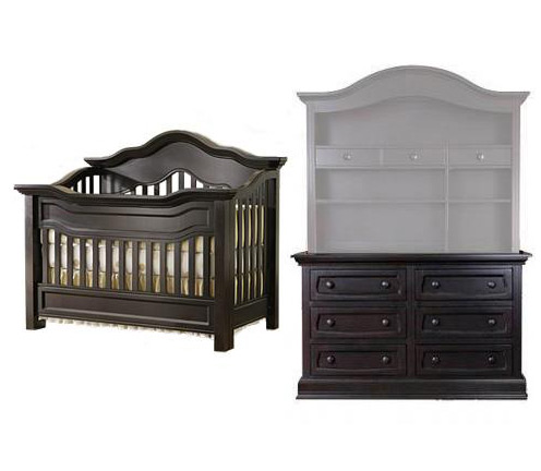Baby Appleseed Millbury Collection Millbury 2 Piece Package: Package Crib and Double Dresser Picture