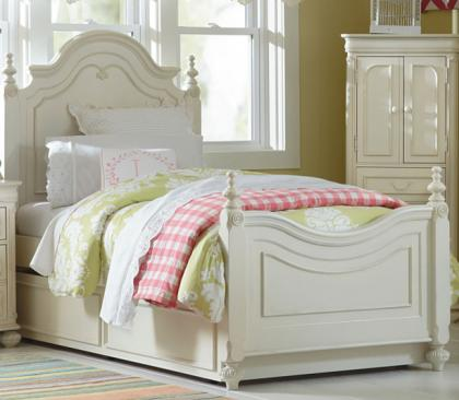 Legacy Classic Kids Charlotte Charlotte Complete Low Poster Bed Twin 3/3 Picture