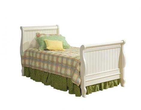 Legacy Classic Kids Summer Breeze Summer Breeze Complete Sleigh Bed 4/6 Full Picture