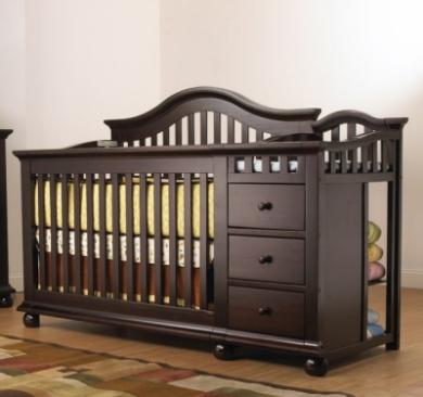 Sorelle Cape Cod Series 1090 Cape Cod Series 1090 4 in 1 Crib with Mini Rail Picture