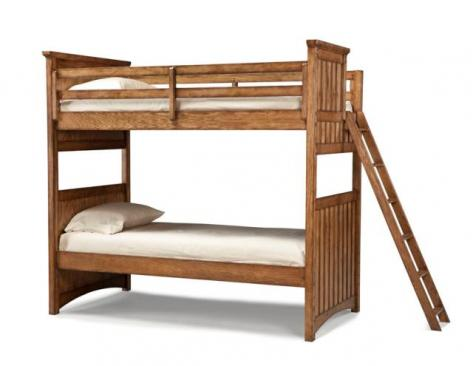 Legacy Classic Kids Timber Lodge Timber Lodge Complete Twin over Twin Bunk Bed Picture