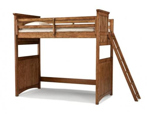 Legacy Classic Kids Timber Lodge Timber Lodge Open Loft Frame Twin 3/3 Picture