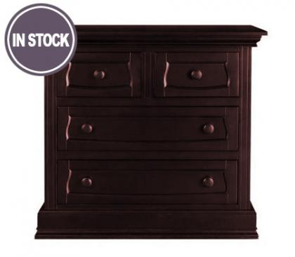 Baby Appleseed Davenport Collection Davenport Collection 4 Drawer Dresser in Merlot Picture