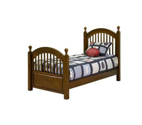 Legacy Classic Kids American Spirit American Spirit 3/3 Twin Low Poster Bed Picture