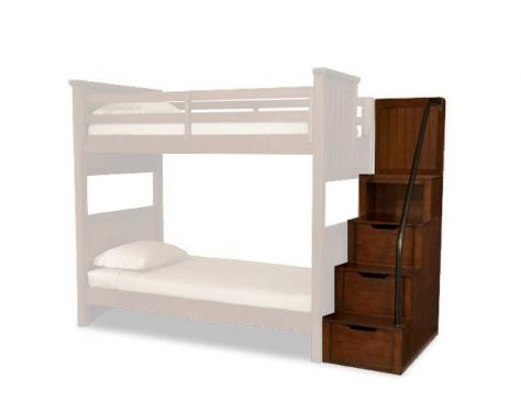 Legacy Classic Kids Dawsons Ridge Dawson's Ridge Bunk Bed Stairs Picture
