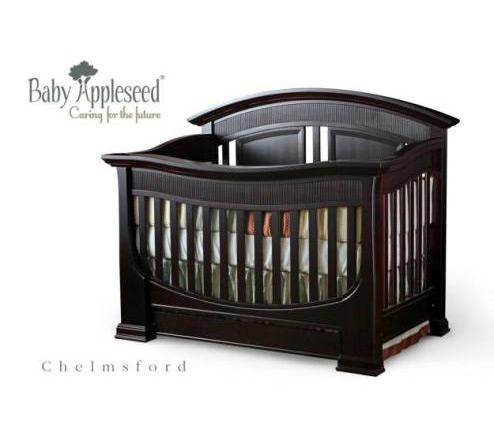 Baby Appleseed Chelmsford Collection Chelmsford Crib Picture