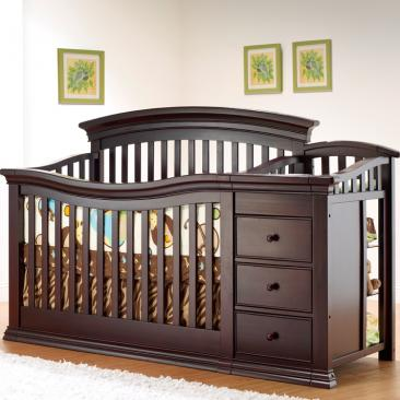 Sorelle Verona Collection Verona Collection Crib and Changer Picture
