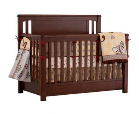 Ragazzi Eclipse Collection Eclipse Collection Fixed Side Convertible Crib Picture