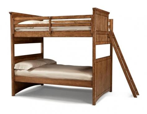 Legacy Classic Kids Timber Lodge Timber Lodge Complete Full over Full Bunk Bed Picture
