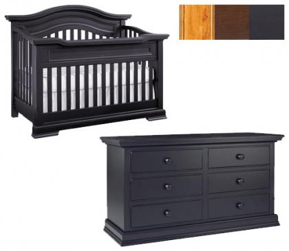 Bonavita Belmont Collection Belmont 2 Piece Set: Crib and Double Dresser Picture