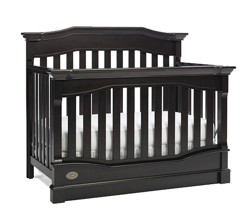 Dolce Babi Roma Collection Roma Convertible Crib with Free Toddler Rail Picture