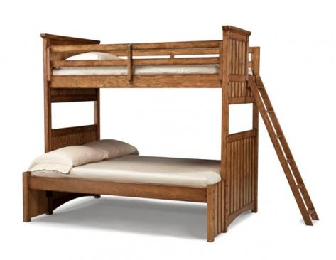 Legacy Classic Kids Timber Lodge Timber Lodge Complete Twin over Full Bunk Bed Picture