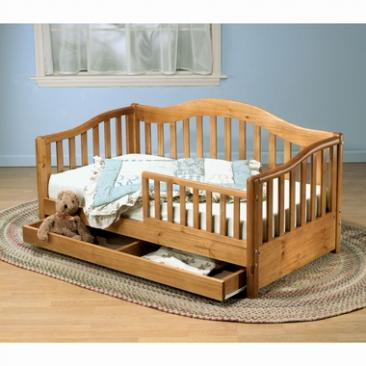 Sorelle Toddler Beds Grande Toddler Bed w/ Drawer Picture