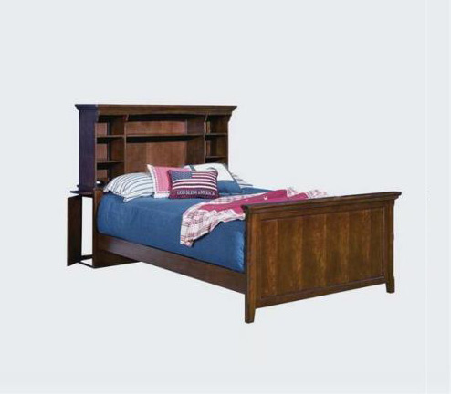 Legacy Classic Kids American Spirit American Spirit Twin Storage Bookcase Headboard Bed Picture
