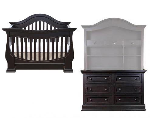Nice Baby Appleseed Davenport 2 Piece Set: Crib And Double Dresser