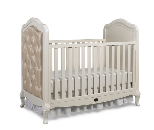 Dolce Babi Angelina Collection In French Vanilla Angelina Collection Traditional  Crib In French Vanilla Picture